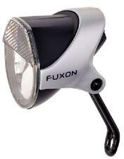 FUXON Scheinwerfer & Rücklicht SET für Nabendynamo Fahrradbeleuchtung mit Halter