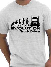 Evolution Of A Truck Driver Job Work Unisex T-Shirt Size S-XXL