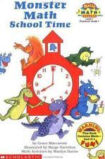 Monster Math School Time (level 1) (Hello Reader, Math)