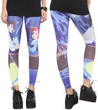 DISNEY Ariel Little Mermaid & ERIC Kiss Girl Leggings Yoga Pants Adult JRS L NEW