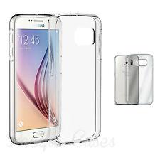 Coque housse transparente pour Samsung Galaxy S6 et S6 Edge ultra fine + stylet