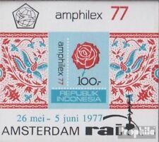 Indonesien Block22B (kompl.Ausg.) postfrisch 1977 Briefmarkenausstellung