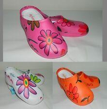 Ciabatte sandali sabot bimba DEFONSECA fiori vari colori e misure casa mare RCA1