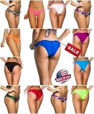 COQUETA Brazilian samba bottom Swimwear scrunched Ripple ladies Bikini wavy sexy