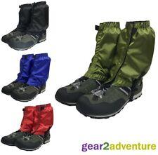 Outdoor Hiking Walking Waterproof Gaiters Trekking Sports Boot Ankle Covers UK
