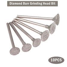 2.35/3mm Shank Diamond Grinding Burr Drill Bit For Dremel Rotary Tools Us