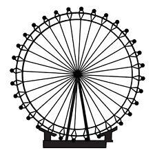 "Sticker ""London Eye"" Grande Roue Londres Angleterre, Coloris Divers (MONU001)"