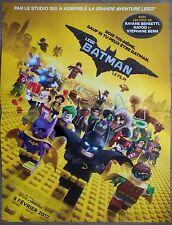 LEGO BATMAN Affiche Cinéma / Movie Poster Chris McKay