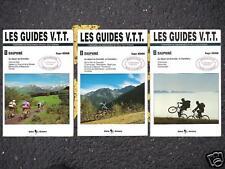 3 Tomes Les Guides de V.T.T. - DAUPHINE VELO VTT GRENOBLES CHAMBERY Roger Hémon