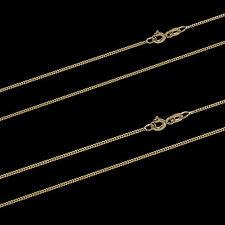 585 gelb GOLD Kette PANZERKETTE 14Kt Panzer Kette Halskette Collier DAMEN HERREN