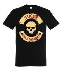 Herren T-Shirt Shirt Kurzarm SIKER GALATASARAY Istanbul Soccer Größe S-XXL