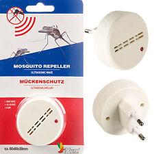 Ultrasonido Repelente De Mosquitos Anti Insecto Bug disuasorio Casa de vacaciones de la UE Plug In