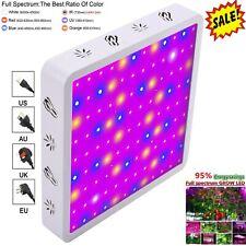 Newest 1000W LED Grow Light Full Spectrum Indoor Hydro Veg Flower Grow Panel FE