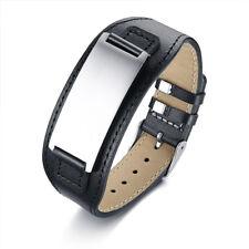 Custom Engraving Medical Alert Leather Bracelet SOS Stainless Steel Adjustable