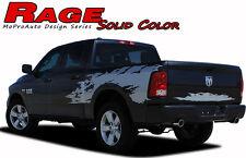 2009-2018 Dodge Ram RAGE Solid Color Truck Bed 3M Vinyl Graphics Decals Stripes