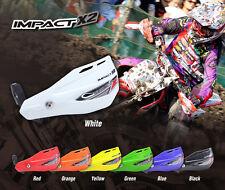 Zeta impacto X2 Handguards Barata Nueva Motocross Mx Enduro Quad Atv Todos Los Colores