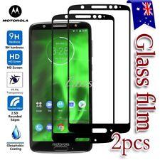 2X Motorola Moto G6 Tempered Glass LCD Screen Protector Film Guard
