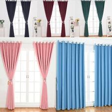Room Darkening Drapes Solid Window Curtain for Bedroom, Nursery, Living Room