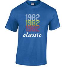 Born in 1982 Birthday T Shirt Birth year Born in year Shirt 36th Birthday Gift