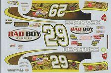 #29 Kevin Harvick Realtree & Badboy Buggies 2011 Chevy R. Childress Racin Decals