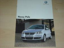 35557) VW Polo Polen Prospekt 2005