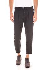 Pantaloni Daniele Alessandrini Jeans Trouser -65% Uomo Nero PJ5369L3203535-1