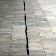 █▬█ █ ▀█▀ SCHLITZRINNE ENTWÄSSERUNGSRINNE BODENRINNE ENTWÄSSERUNGSKANAL H 105 mm