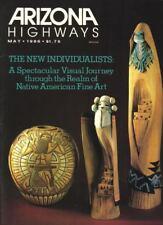 1986 MAY ARIZONA HIGHWAYS      NATIVE AMERICAN FINE ART