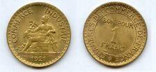 Gertbrolen 1 Franc Chambre de Commerce  1921 Exemplaire N° 3