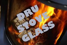 DRU DRUGASAR REPLACEMENT STOVE GLASS 44 SHAPED HIGH DEFINITION SCHOTT ROBAX
