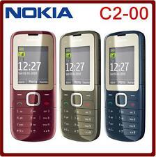 NOKIA C2-00 C2 Dual SIM Phone FM Bluetooth MP3 MP4 Player Cellphone Unlocked