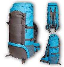 65 Litre Highlander Trekker Rucksack Backpack Camping Hiking Walking Trekking