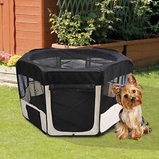 Parque Mascotas Plegable Juego de Entrenamiento Corral Perro Cachorro 2 Medidas