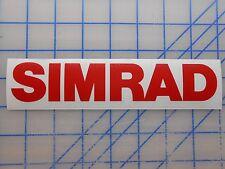 """Simrad Decal Sticker 5.5"""" 7.5"""" 11"""" GO7 NSS 7 9 12 GPS Transducer Radar Sonichub"""