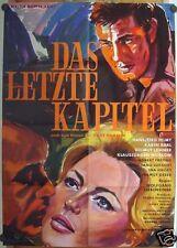 LETZTE KAPITEL / THE LAST CHAPTER (Pl. '61) - HANSJÖRG FELMY / KARIN BAAL