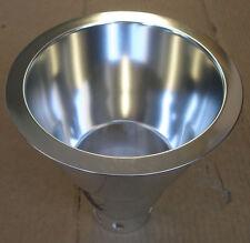 "NEW Lightolier 8021CLP 6"" Aperture Triple Tube Downlight Reflector Trim Clear"