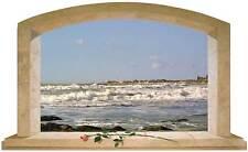 Sticker Trompe L'oeil Adesivo Finestra sul mare di Moltalbano