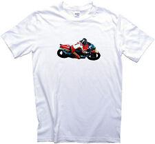 Barry Sheene Suzuki RG500 1977 GP Motorcycle T-Shirt. Gents, Ladies & Kids Sizes