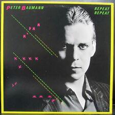 Peter Baumann - Tangerine Dream - REPEAT REPEAT LP [1982]