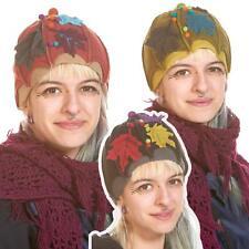 Fleece Pixie Hippy Hat, Cute Ladies Beanie Fleece Winter Hat, Mori Kei Clothing