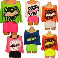 Damen Tanktop Träger Top Shirt T-Shirt Crop Top 2 in 1 Longshirt Tunika Set