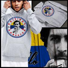 Kingpin hoodie Colombia narco Medellin weed Grey Pullover Hoodie T-shirt