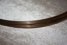 Edelstahl Bunddraht 6105 entspricht Wagner fret wire 9662 Maße 2,28 x 1,4 mm