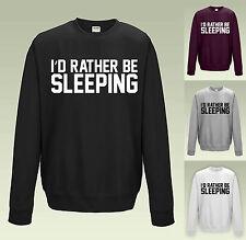 Je préfère dormir sweat JH030-drôle slogan pull étudiant pull