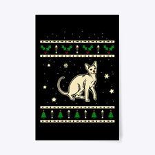 "Christmas Peterbald Gift Poster - 24""x36"""