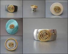 Zylinder mit goldfarbener Spirale - kompatibel m. Charlotte 21, Touch, Ring Ding