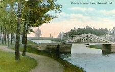 Hammond,IN. A 1910 view in Harrison Park