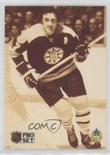 1991-92 Pro Set French #594 Phil Esposito Boston Bruins Hockey Card