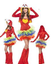 Costume Carnevale tutu' Donna animale pappagallo smiffys 55021  *18338