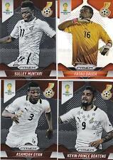 Panini Prizm FIFA World Cup 2014 base cards Team ghana to choose escoger